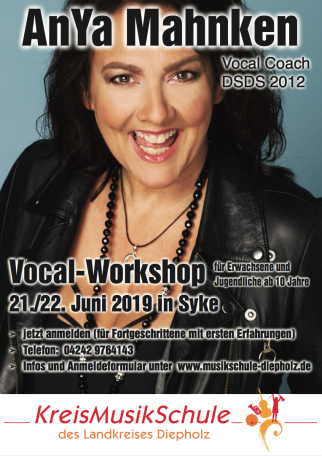 Vocal Workshop AnYa Mahnken © Landkreis Diepholz