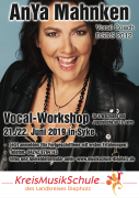 Vocal Workshop AnYa Mahnken